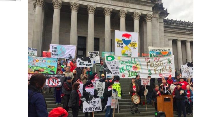 Washington activists launch 'Climate Countdown' to push lawmakers for urgent action
