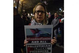 Photos: #FreeAhedTamimi and #FreePalestine in Brussels, Berlin, Athens, Amsterdam, London, Jaipur, Manchester, Naples, Milan, Dortmund