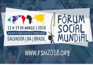 World Social Forum opens in Salvador de Bahia