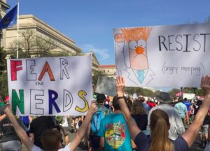 Snapshots of March for Science Signs Across the Globe