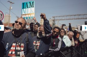 Memphis' MLK50 commemoration marks 'time for a political revolution'