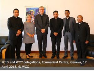 Pontifical Council, WCC develop joint text on education for peace