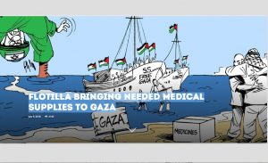 Flotilla bringing needed medical supplies to Gaza