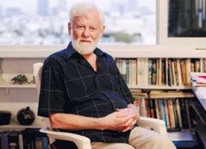 Uri Avnery, leader of the Israeli peace movement Gush Shalom, 1923-2018