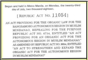 Philippines: New Bangsamoro Organic Law Includes Provision for Peace Education