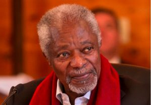 The Elders mourn the loss of Kofi Annan