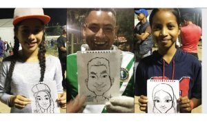 Mexico: Artist's Portraits Show Migrant Caravan's Hope, Joy: 'These Are Regular People'