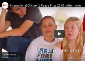 March For Our Lives wins International Children's Peace Prize 2018