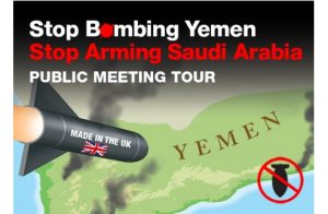 UK Nationwide Public Meeting Tour: Stop Bombing Yemen, Stop Arming Saudi