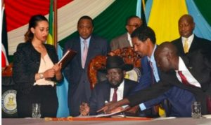 Southern Sudanese leaders agree to promote a culture of peace