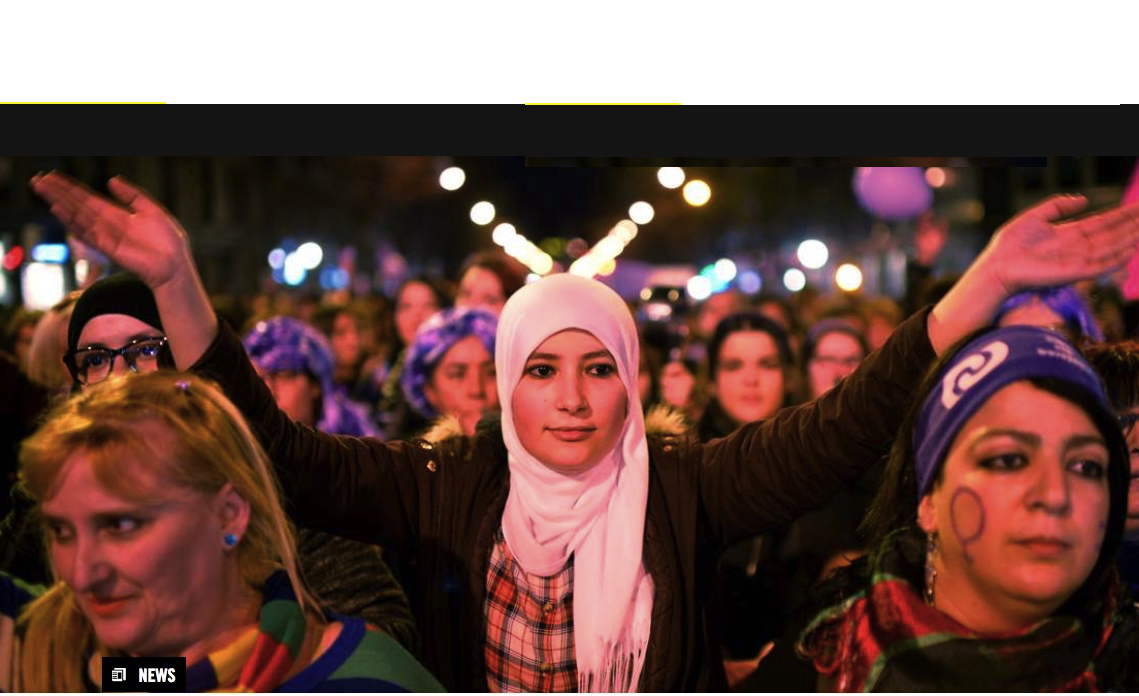 Amnesty International: Oppressive, sexist policies galvanize bold fight for women's rights in 2018