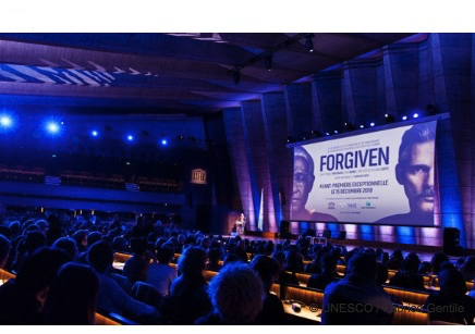 "Pre-screening of the film ""The Forgiven"" starring Forest Whitaker at UNESCO"