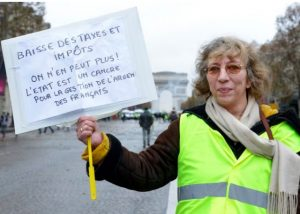 France: Gilets Jaunes (Yellow Vests): where Democracy is on the march!