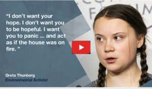 Greta Thunberg: My Message to Davos Elites: Act As If Our House Is on Fire. Because It Is.