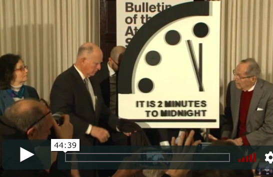 2019 Doomsday Clock Statement