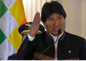 "Bolivia: Evo Morales says the United States seeks to ""devastate and impoverish"" Venezuela as did to Iraq and Libya"
