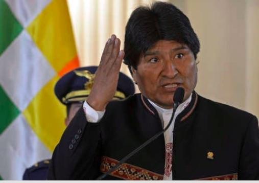 "Bolivia: Evo Morales says the United States seeks to ""devastate and impoverish"" Venezuela as did to Iraq and Libya"