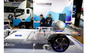 A slew of electric truck plans may deliver the goods for China's EV ambitions