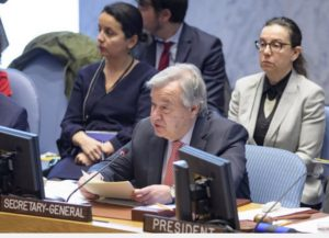 Women must be at 'centre of peacekeeping decision-making', UN chief tells Security Council