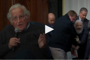 "Chomsky: Arrest of Assange Is ""Scandalous"" and Highlights Shocking Extraterritorial Reach of U.S."