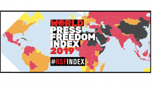 2019 World Press Freedom Index – A cycle of fear