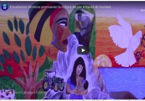 Nicaragua: Technical students promote the culture of peace through murals
