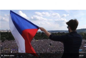 Czech Republic: Prague crowds demand PM Andrej Babis step down