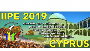 International Institute for Peace Education 2019: Cyprus