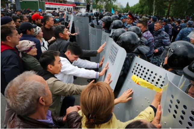Kazakhstan: Protests of presidential vote bring 500 arrests