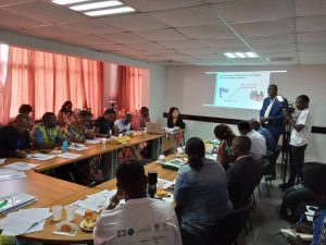 PAYNCoP Gabon learns about the culture of peace