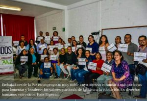 Mexico: Ambassadors of Peace Project in the City Hall of Tláhuac