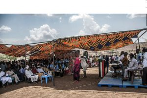 UNAMID Holds Open Day and Hakamat (Praise Singers) Workshop in Central Darfur