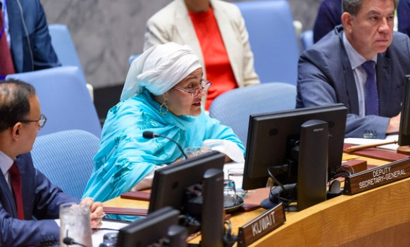 Voices of Afghan women 'must be heard at the table in the peace process and beyond' UN deputy chief tells Security Council