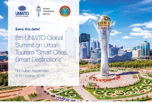 Kazakh capital to host 2019 UNWTO Urban Tourism Global Summit on SDGs