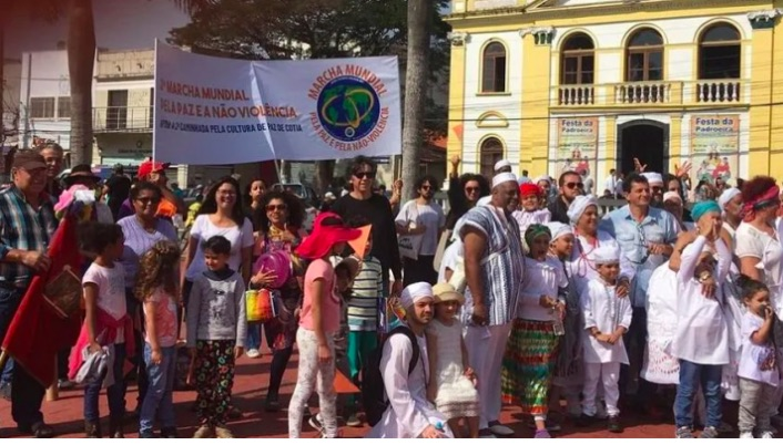 2nd Walk for the Culture of Peace in Cotia, Brazil, receives support from the World March for Peace and Nonviolence