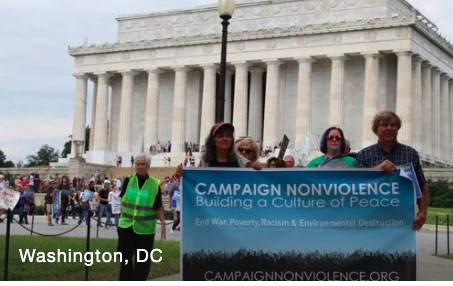 Campaign Nonviolence Action Week, September 14-22