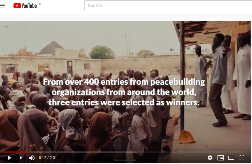 2019 Tomorrow's Peacebuilders Award winners announced