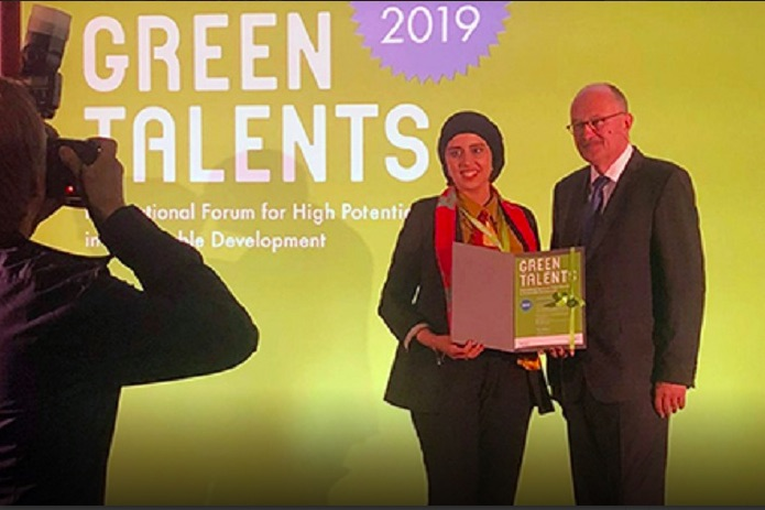 Moroccan Researcher Karima El Azhary Wins International Sustainable Development Award