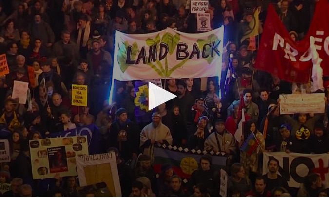 At Major March in Madrid, Indigenous & Youth Activists Slam Global Leaders for Climate Inaction