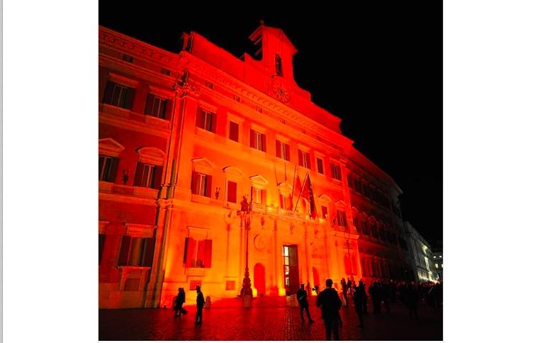 The world went orange: Putting a spotlight on ending violence against women