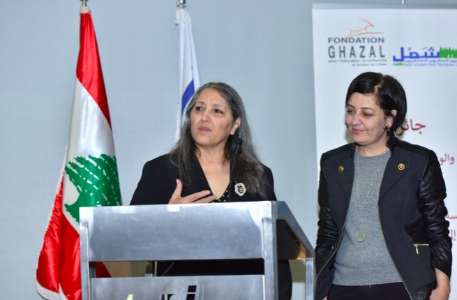 Lebanon: Interview with Ogarit Younan (prize for conflict prevention and peace)