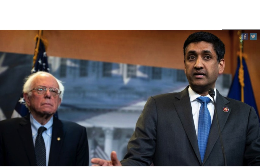 USA: Sanders and Khanna Introduce New Bill to 'Stop Donald Trump From Illegally Taking Us to War Against Iran'