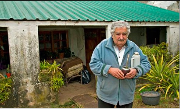 Uruguay: Pépé Mujica, the ex-President of the Republic voluntarily the poorest in the world.