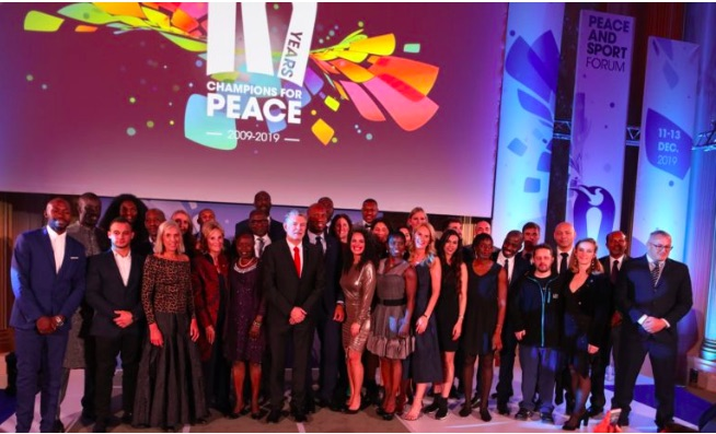 The 12th peace and sport international forum concludes magnificently