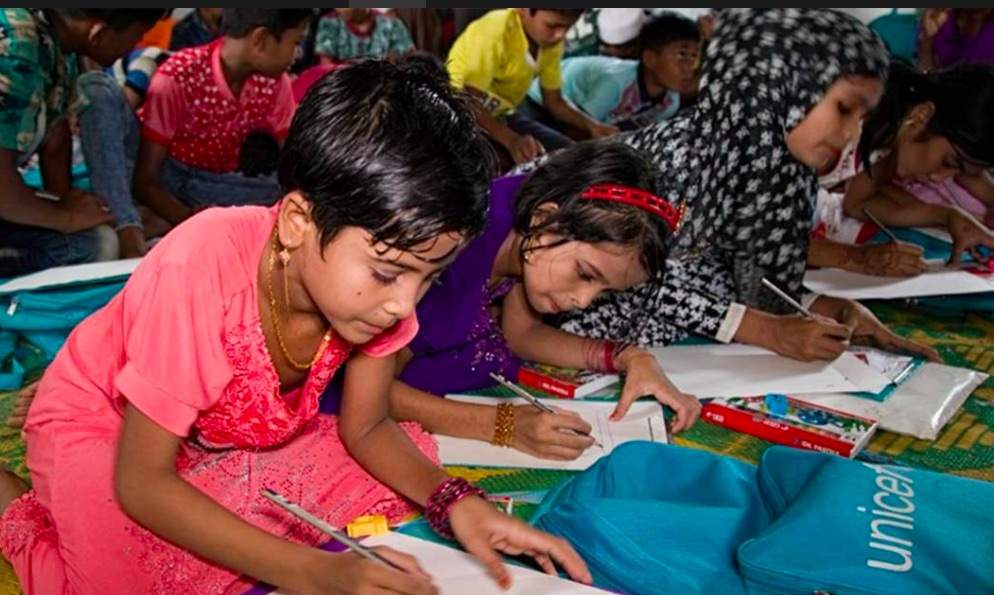 Bangladesh: Rohingya children get access to education
