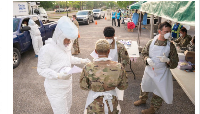 USA: A Department of Actual Defense in a Time of Coronavirus