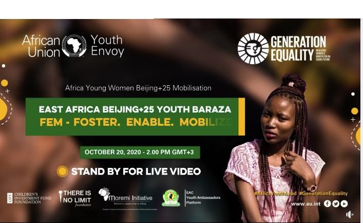 Africa Beijing+25 Youth Baraza:  Fem-Foster, Enable, Mobilize