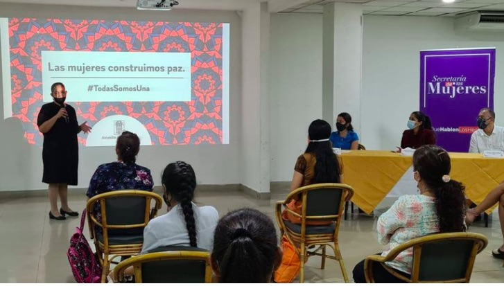 Female victims and ex-combatants graduated as peace activists in Antioquia, Colombia