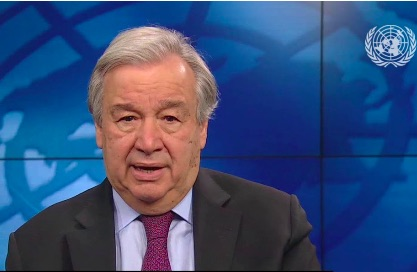 United Nations: Guterres hails entry into force of treaty banning nuclear weapons