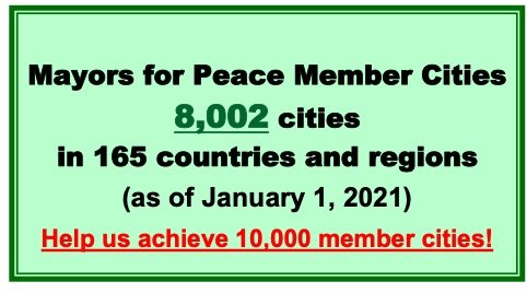 Mayors for Peace : Report on 2020 Vision (Emergency Campaign to Ban Nuclear Weapons)